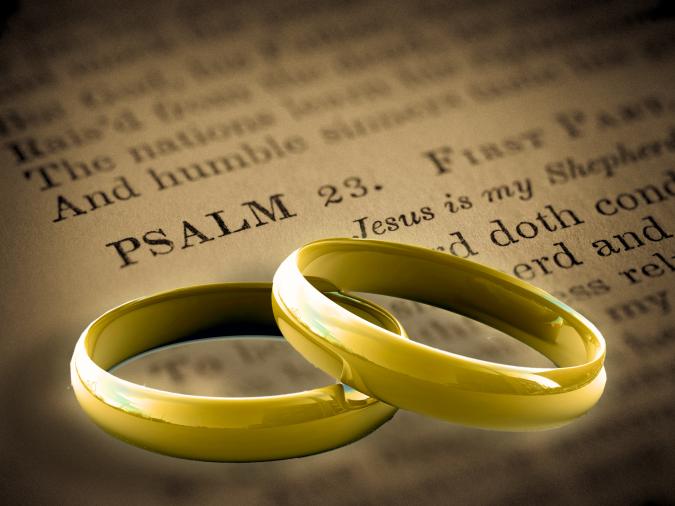 Bible & Rings